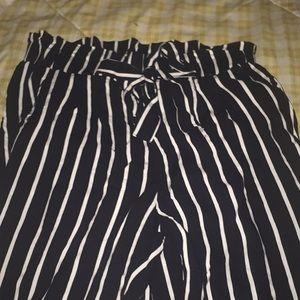 Flowy striped pants